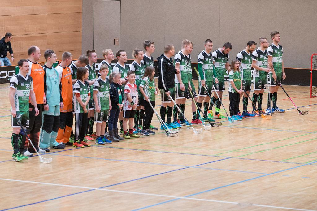 Unihockey Igels Dresden 09.02.2019 Foto Faust